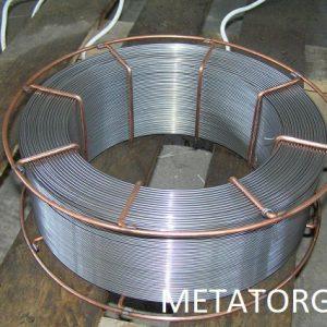 Проволока стальная сварочная Св-04Х19Н9С2
